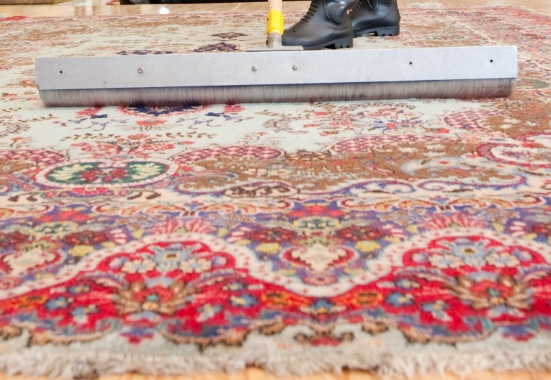 how to clean carpet by hand