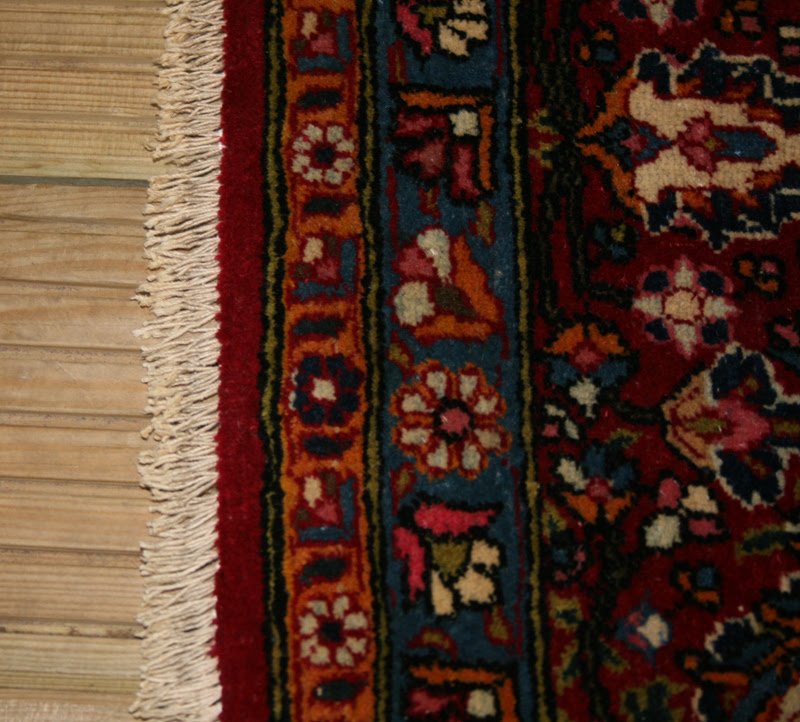 Rug Fringes Repair